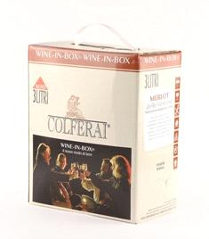Merlot (Veneto) BAG IN BOX  I.G.T. 3 Lt COLFERAI